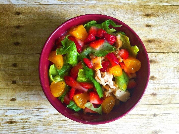 Copy Cat Strawberry Poppyseed &Chicken